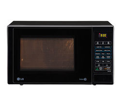 LG 23 Litre Grill Microwave Oven MH2344DB, black