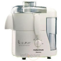 Morphy Richards Maximo 450 Watts Juicer,  white