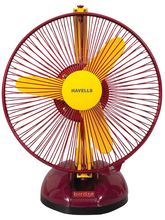 Havells Birdie Personal Table Fan 230Mm, yellow