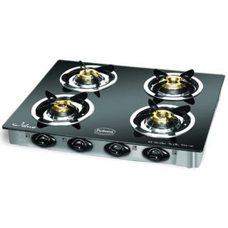 Padmini CS-4GT Cloud Plu 4 Burner Gas Cooktop