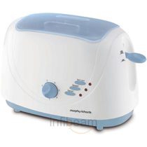 Morphy Richards AT204 Pop-up Toaster WITH LID,  white