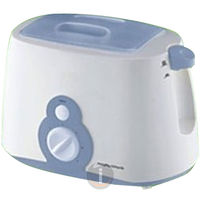 Morphy Richards AT 202 Pop Up Toaster, standard-white
