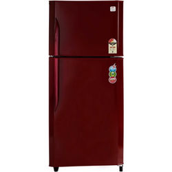 Godrej GFE 25 SP3N Double Door-Top Freezer 231 Litres Refrigerator,  red