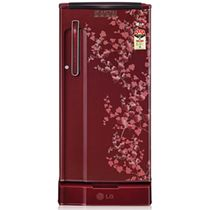 LG 190Ltr - GL-205XEDA5 (WB) Single Door Refrigerator, multicolor