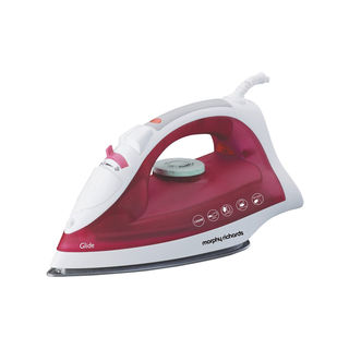 Morphy Richards Glide Steam Iron Wine Red