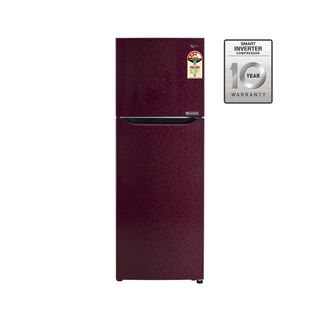 LG GL-B282SWCM 255 Litres Double Door Refrigerator (Wine Crystal ) Image