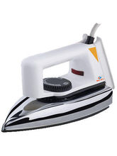 Bajaj Popular Plus 750 Dry Iron (White)