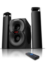 Philips MMS4200 2.1 Multimedia Speaker System, black