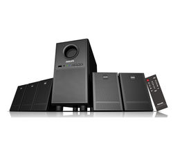 Philips SPA3000U 5.1 Ch Multimedia Speaker, black