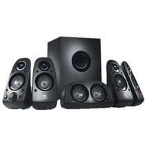 Logitech Z506 5.1 Surround Sound Speakers,  black