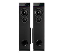 Philips Multimedia Speakers 2.0, black