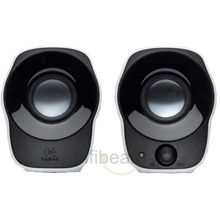 Logitech Z120 2.0 Stereo Speakers,  black