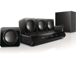 Philips HTD3509 Home Theater System, black