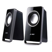 F&D V-520 USB Powered speaker with compact design,  black