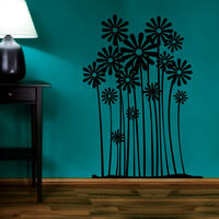 Creative Width Flower Farm Wall Decal, multicolor, medium