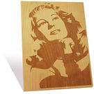 Engrave Rita Hayworth Plaque, multicolor