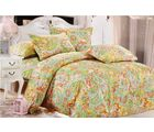 Welhouse India double bed sheet with 2 pillow covers, design2
