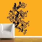 Creative Width Flower Web Wall Decal, multicolor, small