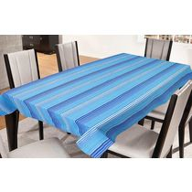Freely Cotton Table Cover For 8 Seaters, multicolor