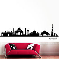 Creative Width Indian Heritage Wall Decal, multicolor, small