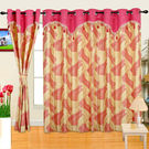 Cortina Designer Candy 9Ft Curtain,  pink