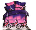 Aapno Rajasthan & Polyester Double Bedsheet with Facinating Contemporary Print, multicolor