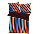 Aapno Rajasthan Polyester Striped Print Single Bed AC Quilt, multicolor