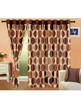 Cortina Punto Aqua 5Ft Curtain, coffee