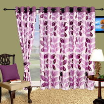 Cortina Stallion 7Ft Curtain,  purple