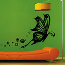 Creative Width Butterfly Flight Wall Decal, multicolor, medium