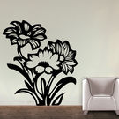 Creative Width Mystique Flower Wall Decal, multicolor, small