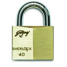 Godrej Sherlock 40 mm (Carton) Locks, golden
