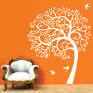 Creative Width Morning With Nature Wall Decal, multicolor, small