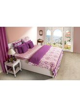 House This Rajasthan 1 Double Duvet Cover, pink