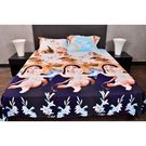 Banana Prints Coral Mother Bedsheets