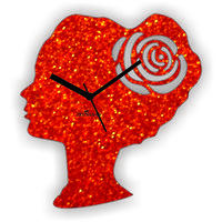 Red Princess Wall Clock