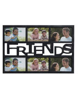Black Beautiful Collage Photoframe for Friends, black