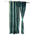 Onze Door Curtain 54* 90 Inches CT 032, multicolor