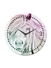 meSleep Hourse Wall Clock, multicolor