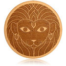 Engrave Narasimha- The Lion -Man Plaque, multicolor
