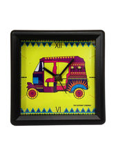 The Elephant Company Alarm Clock Lemon Rickshaw, yellow
