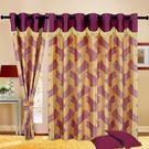 Cortina Fancy Candy 7Ft Curtain,  purple