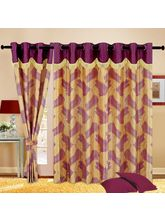 Cortina Fancy Candy 5Ft Curtain, purple