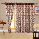 Cortina Acute 7Ft Curtain, coffee-val