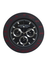 Amazing Black Round Analog Wall Clock, black