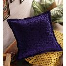 Rang Desi Handcrafted Designer Velvet Cushion Cover,  blue