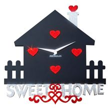 Sweet Home Wall Clock, multicolor