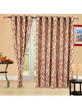 Cortina Wave 5Ft Curtain, rust