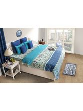 House This Delft 1 Double Duvet Cover, blue