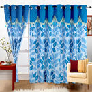 Cortina Stallion Drape 5Ft Curtain,  blue
